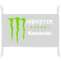 Прапор Monster Energy Kawasaki