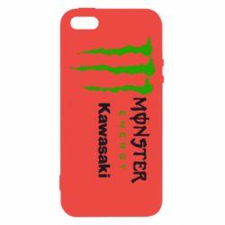 Чохол для iPhone 5 Monster Energy Kawasaki