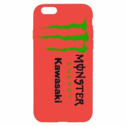 Чохол для iPhone 6 Monster Energy Kawasaki