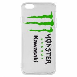 Чохол для iPhone 6 Plus/6S Plus Monster Energy Kawasaki