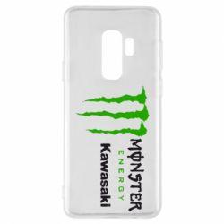Чохол для Samsung S9+ Monster Energy Kawasaki