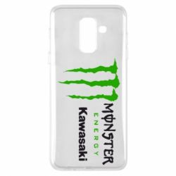 Чохол для Samsung A6+ 2018 Monster Energy Kawasaki