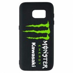 Чохол для Samsung S7 Monster Energy Kawasaki