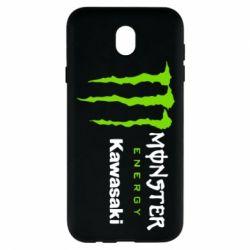 Чохол для Samsung J7 2017 Monster Energy Kawasaki