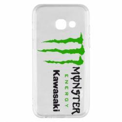 Чохол для Samsung A3 2017 Monster Energy Kawasaki