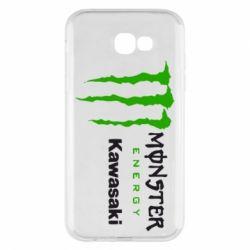 Чохол для Samsung A7 2017 Monster Energy Kawasaki
