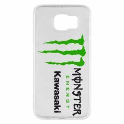Чохол для Samsung S6 Monster Energy Kawasaki
