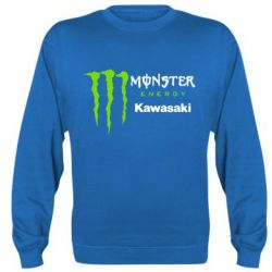 Реглан (свитшот) Monster Energy Kawasaki