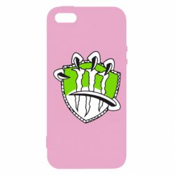 Чехол для iPhone5/5S/SE Monster Energy Когти - FatLine