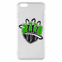 Чехол для iPhone 6 Plus/6S Plus Monster Energy Когти - FatLine