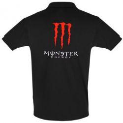 Футболка Поло Monster Energy Logo - FatLine