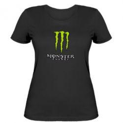 Жіноча футболка Monster Energy Logo