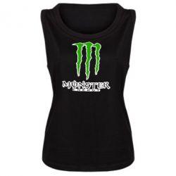 Майка жіноча Monster Energy Logo