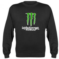 Реглан (свитшот) Monster Energy Logo - FatLine