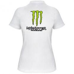 Женская футболка поло Monster Energy Logo - FatLine