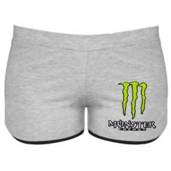 Женские шорты Monster Energy Logo - FatLine
