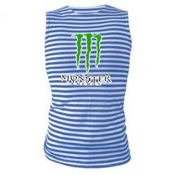 Майка-тільняшка Monster Energy Logo