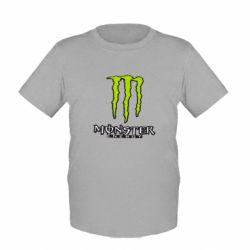Детская футболка Monster Energy Logo - FatLine