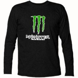 Футболка с длинным рукавом Monster Energy Logo - FatLine