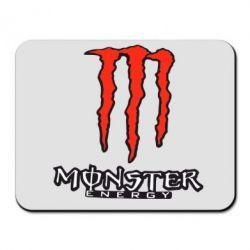Коврик для мыши Monster Energy Logo - FatLine