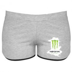 Женские шорты Monster Energy Paint - FatLine