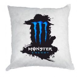 Подушка Monster Energy Paint