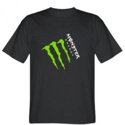 Футболка Monster Energy под наклоном
