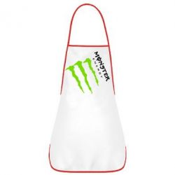 Фартук Monster Energy под наклоном
