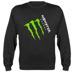 Реглан Monster Energy под наклоном