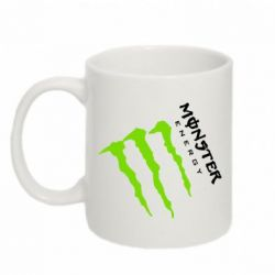 Кружка 320ml Monster Energy под наклоном