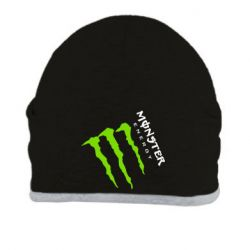 Шапка Monster Energy под наклоном - FatLine