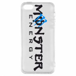 Чехол для iPhone5/5S/SE Monster Energy Small - FatLine
