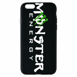 Чехол для iPhone 6/6S Monster Energy Small - FatLine