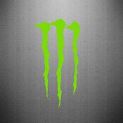 Наклейка Monster Energy Stripes 2
