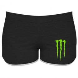 Женские шорты Monster Energy Stripes 2 - FatLine