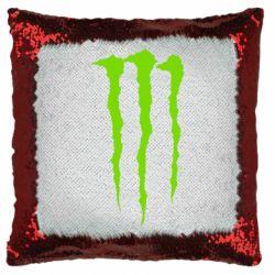 Подушка-хамелеон Monster Energy Stripes 2