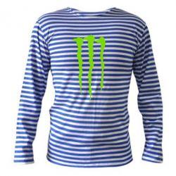 Тельняшка с длинным рукавом Monster Energy Stripes 2 - FatLine