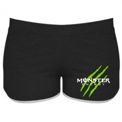 Женские шорты Monster Energy Stripes - FatLine