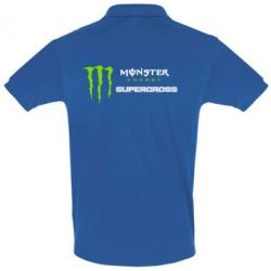 Футболка Поло Monster Energy Supercross - FatLine