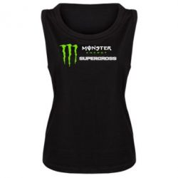 Женская майка Monster Energy Supercross