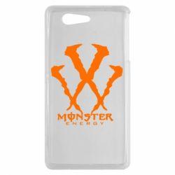 Чехол для Sony Xperia Z3 mini Monster Energy W - FatLine