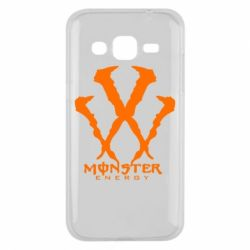 Чехол для Samsung J2 2015 Monster Energy W - FatLine