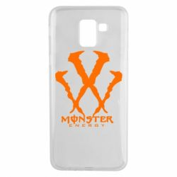 Чехол для Samsung J6 Monster Energy W - FatLine