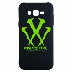 Чехол для Samsung J7 2015 Monster Energy W - FatLine
