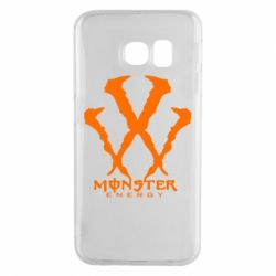 Чехол для Samsung S6 EDGE Monster Energy W - FatLine
