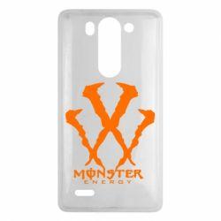Чехол для LG G3 mini/G3s Monster Energy W - FatLine