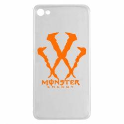 Чехол для Meizu U20 Monster Energy W - FatLine