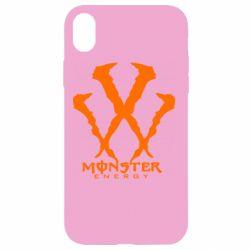 Чехол для iPhone XR Monster Energy W