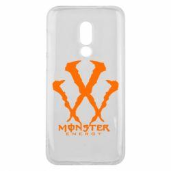 Чехол для Meizu 16 Monster Energy W - FatLine