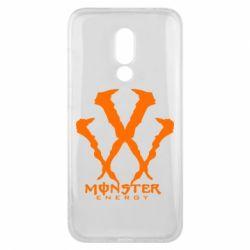 Чехол для Meizu 16x Monster Energy W - FatLine